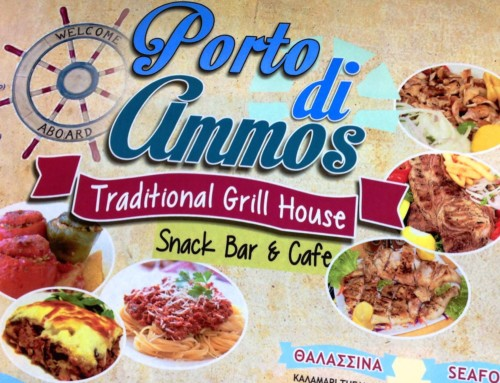 Porto di Ammos – Restaurant-Cafe