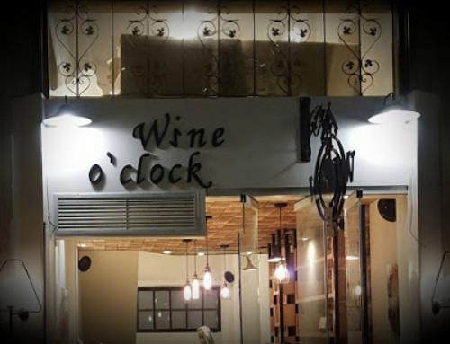 """Wine Bar """"Wine O'clock"""""""